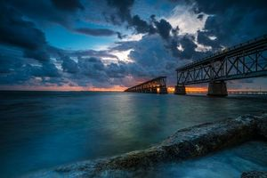 Фото бесплатно Флорида, море, пирс