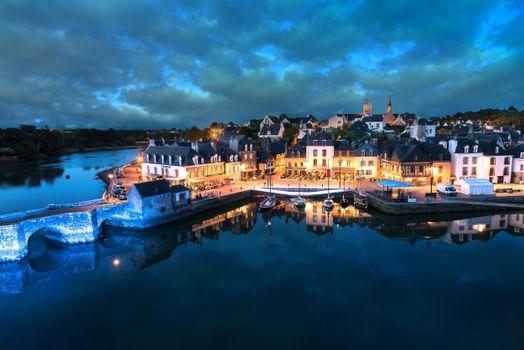 Фото бесплатно Порт Сен-Густан, Бретань, Франция