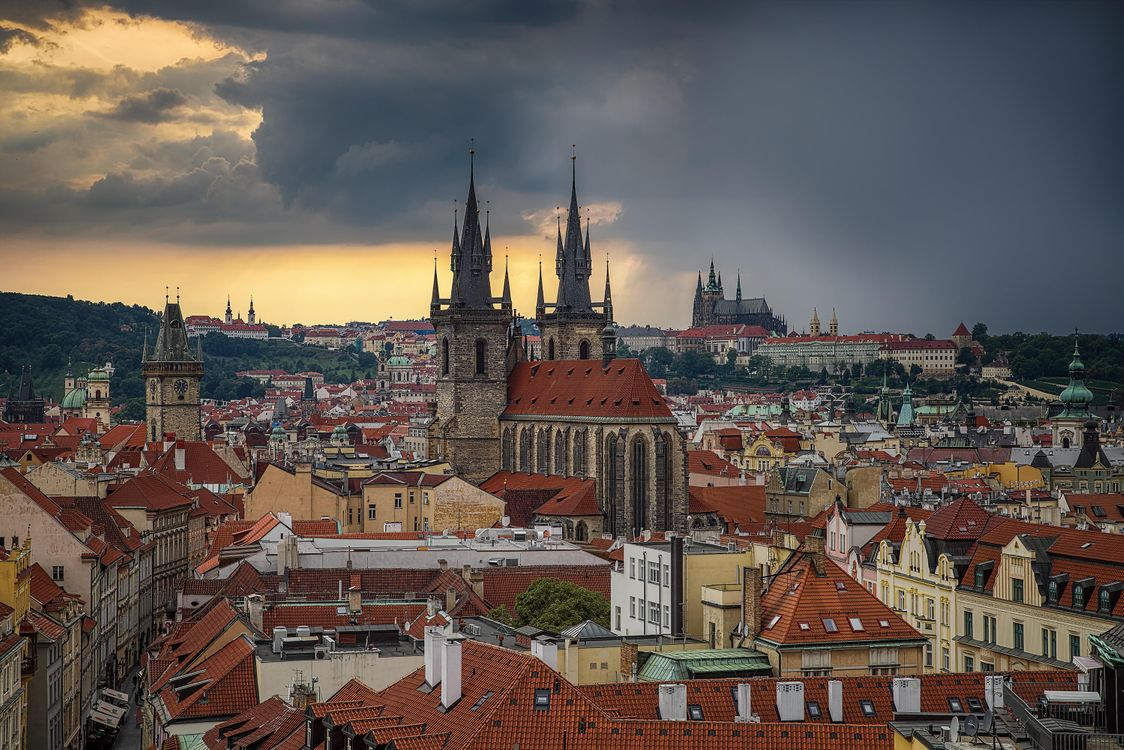 Фото бесплатно Прага, Чехия - на рабочий стол