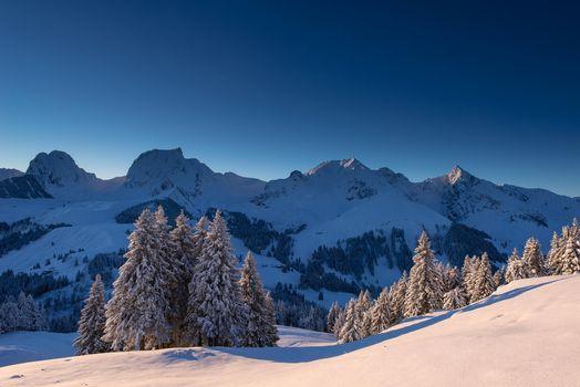 Photo free winter, mountains, Switzerland