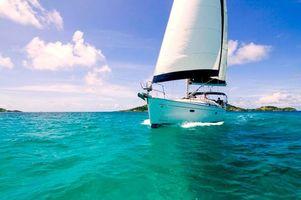 Бесплатные фото море,яхта,отдых