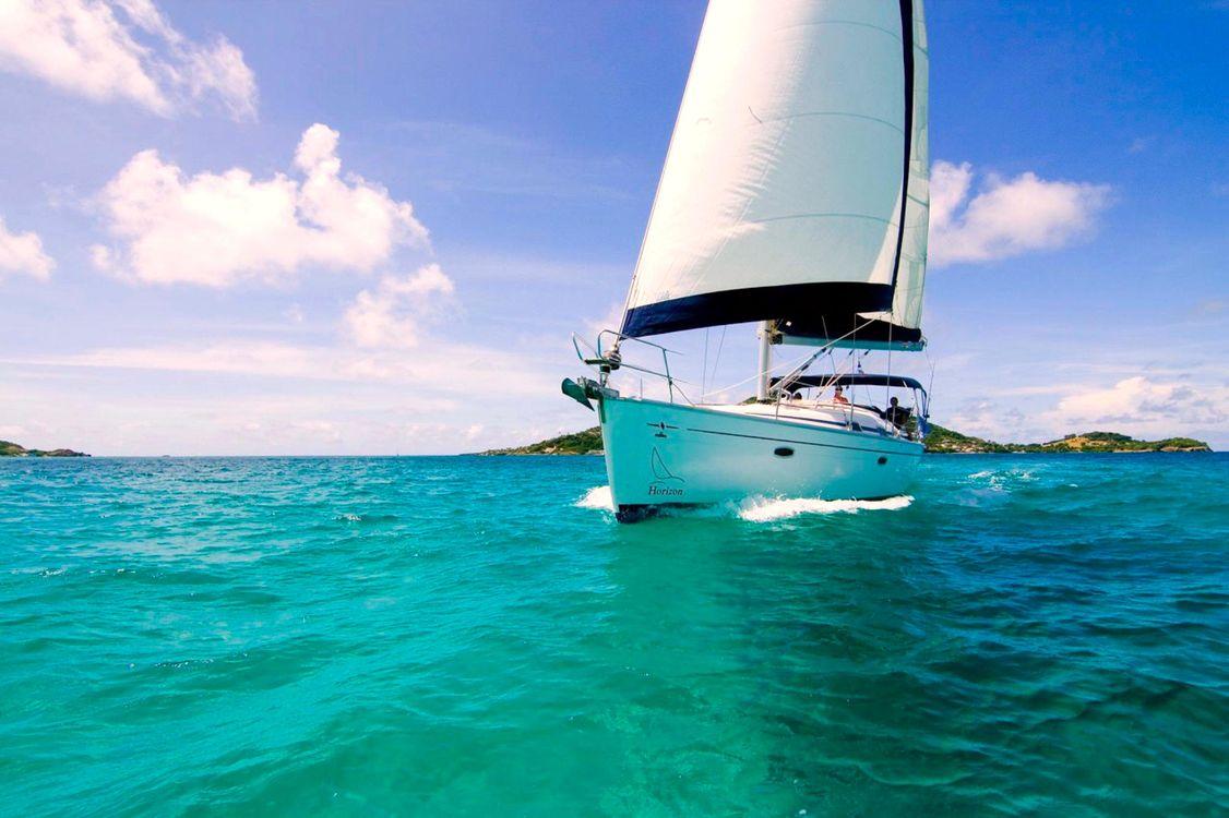 Фото бесплатно море, яхта, отдых - на рабочий стол