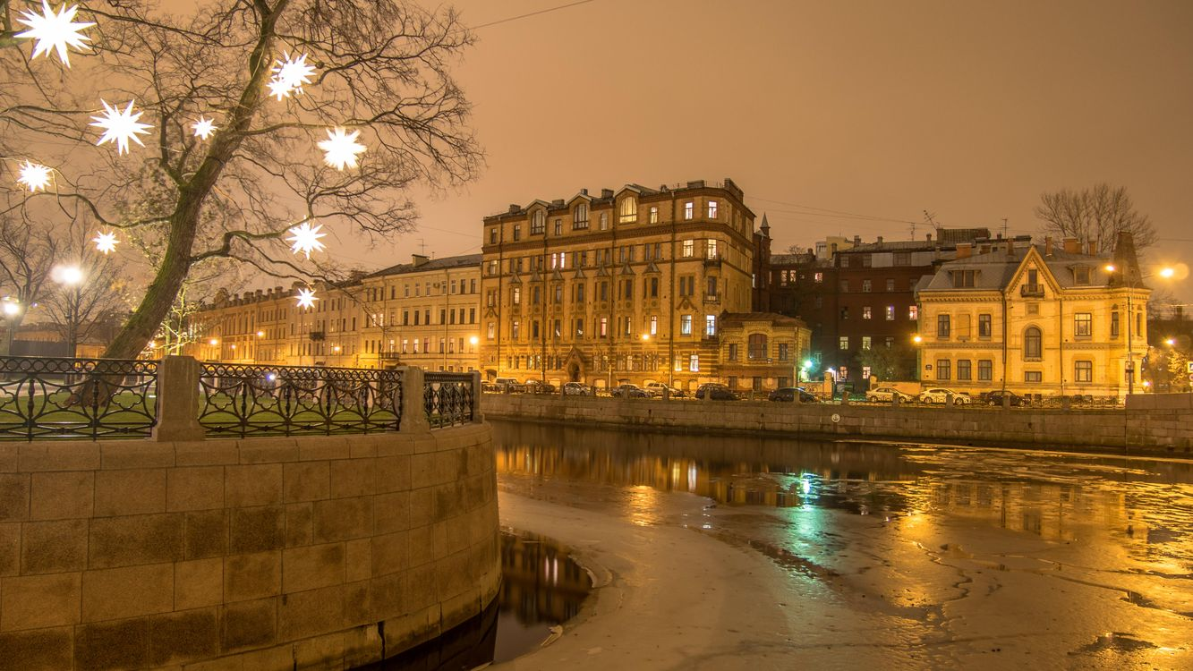 Фото бесплатно Moyka River, St Petersburg - на рабочий стол