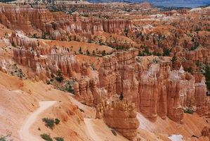 Фото бесплатно Bryce Canyon National Park, горы, скалы