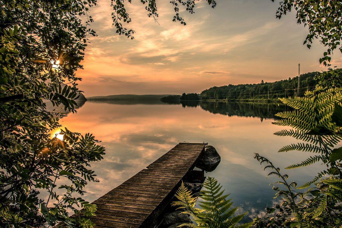 Фото бесплатно пейзаж, док, мост - на рабочий стол