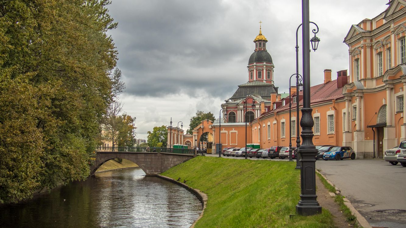 Фото бесплатно Saint Alexander Nevsky Lavra, St Petersburg, город