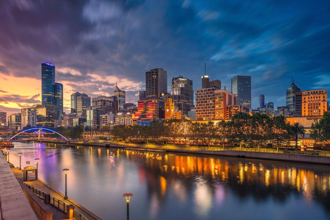 Фото бесплатно Melbourne, Мельбурн, Австралия, город