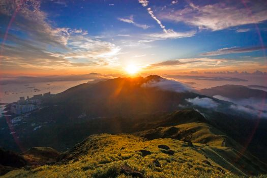 Фото бесплатно закат, или восход, хрен его знает