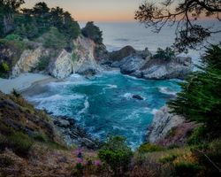 Фото бесплатно McWay Falls, Julia Pfeiffer Burns State Park, California