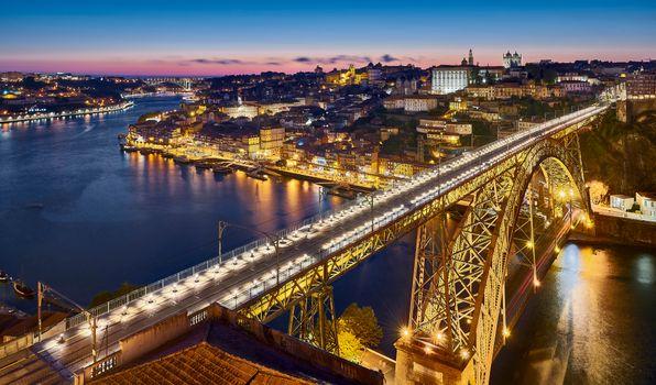 Фото бесплатно мост Луис, Porto, Portugal