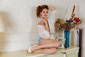 Бесплатные фото Diana,красотка,позы,поза,сексуальная девушка,модель