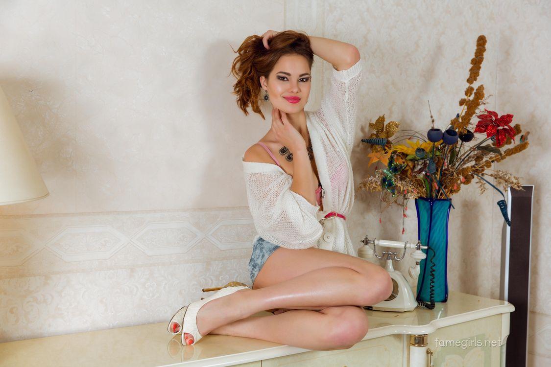 Фото бесплатно Diana, красотка, позы, поза, сексуальная девушка, модель, девушки