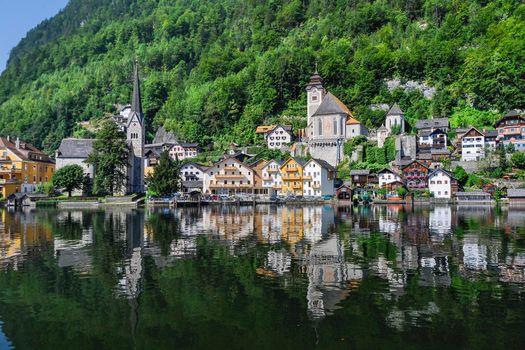 Бесплатные фото Hallstatt,Austria,Гальштат,Австрия