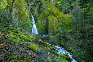 Бесплатные фото Ущелье реки Колумбия,Орегон,Columbia River Gorge,Wahkeena Falls