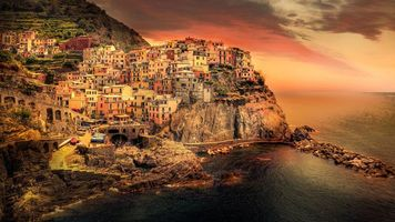 Бесплатные фото Manarola,Cinque Terre,Italy,Манарола,Чинкве-Терре,Италия