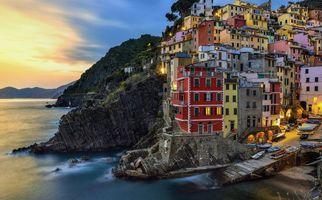Заставки Riomaggiore, Cinque Terre, Italy
