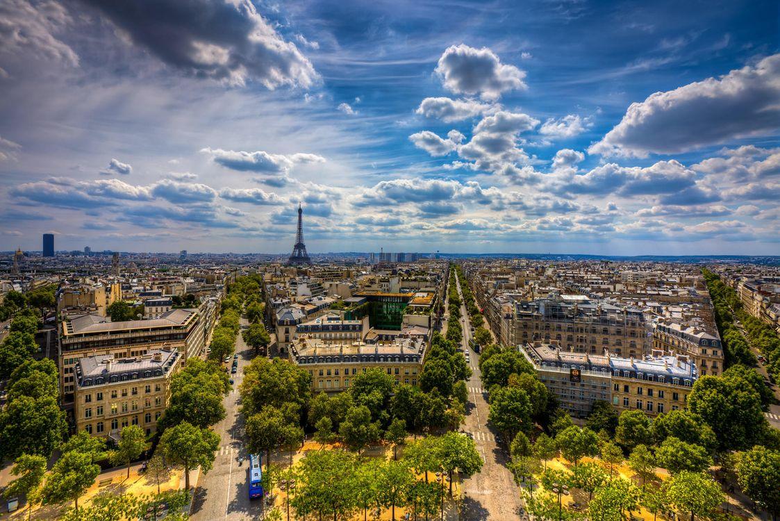 Фото бесплатно Париж, Франция, Paris, France, город - скачать на рабочий стол