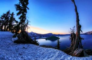 Заставки Crater Lake National Park, Oregon