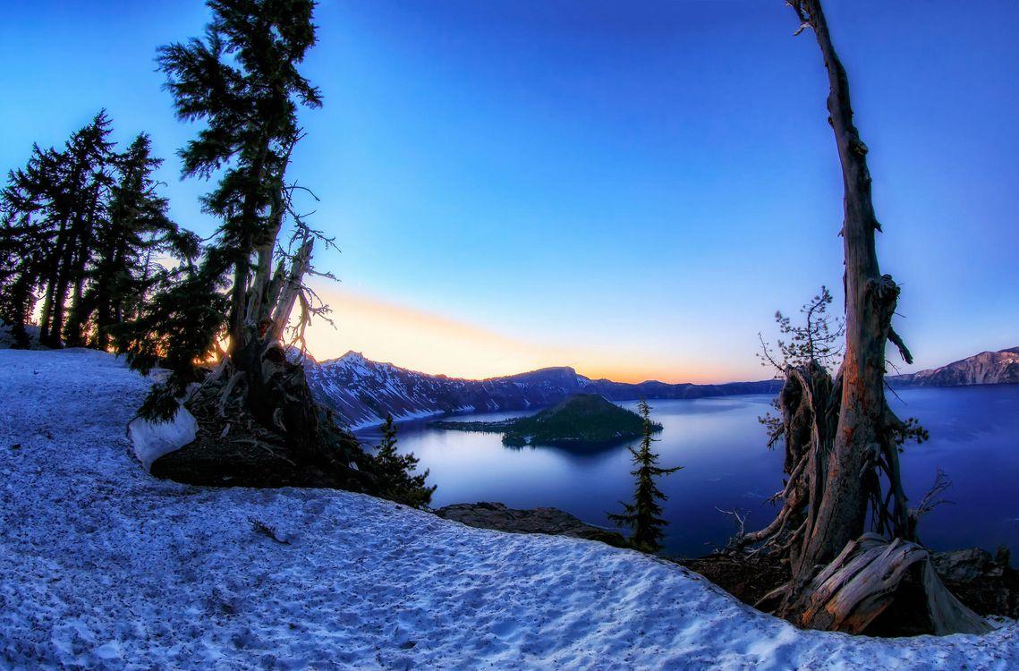 Фото бесплатно Crater Lake National Park, Oregon - на рабочий стол