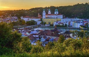 Фото бесплатно Пассау, река, Германия