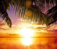 Самые красивые фото закат, море