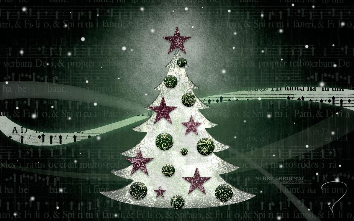 Фото бесплатно праздник, новый год, ёлка - на рабочий стол