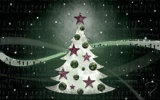 праздник, новый год, ёлка, текстура, вектор