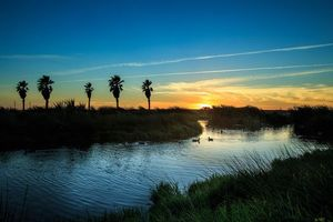 Фото бесплатно небо, река, пейзаж