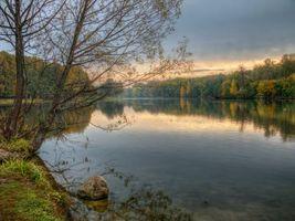 Фото бесплатно закат, москва, парк кузьминки