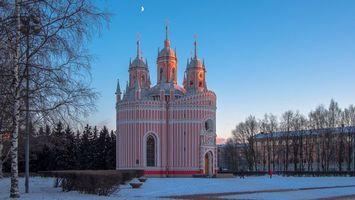 Бесплатные фото Чесменская церковь Россия,Санкт-Петербург