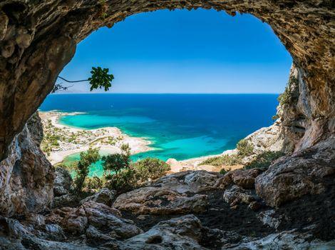 Бесплатные фото пещера,море,скалы