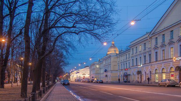 Фото бесплатно Конный гвардейский бульвар, Санкт-Петербург