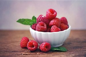 Photo free raspberry, berry, food
