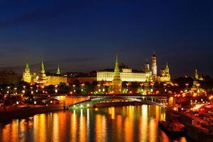 Заставки Москва-река,Москва,Россия,Московский Кремль