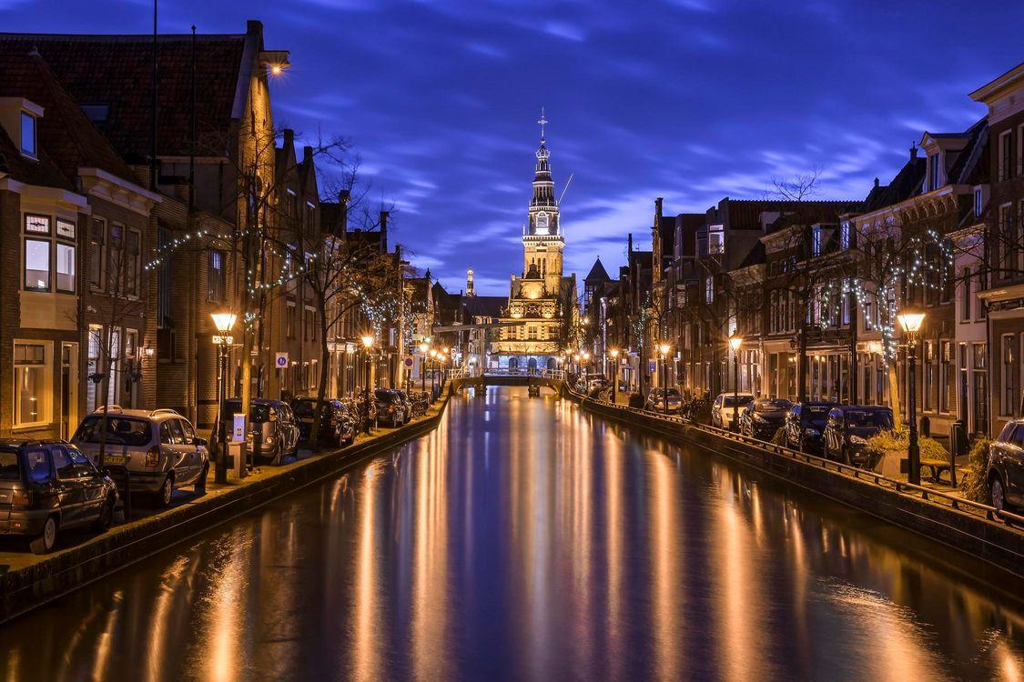 Фото бесплатно Алкмар, Нидерланды, Голландия, город