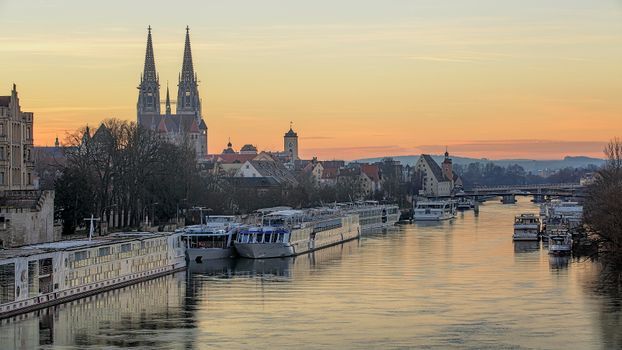 Фото бесплатно Регенсбург, Бавария, Германия