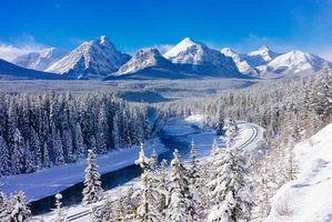 Фото бесплатно Национальный парк Банф, Канада, Banff National Park