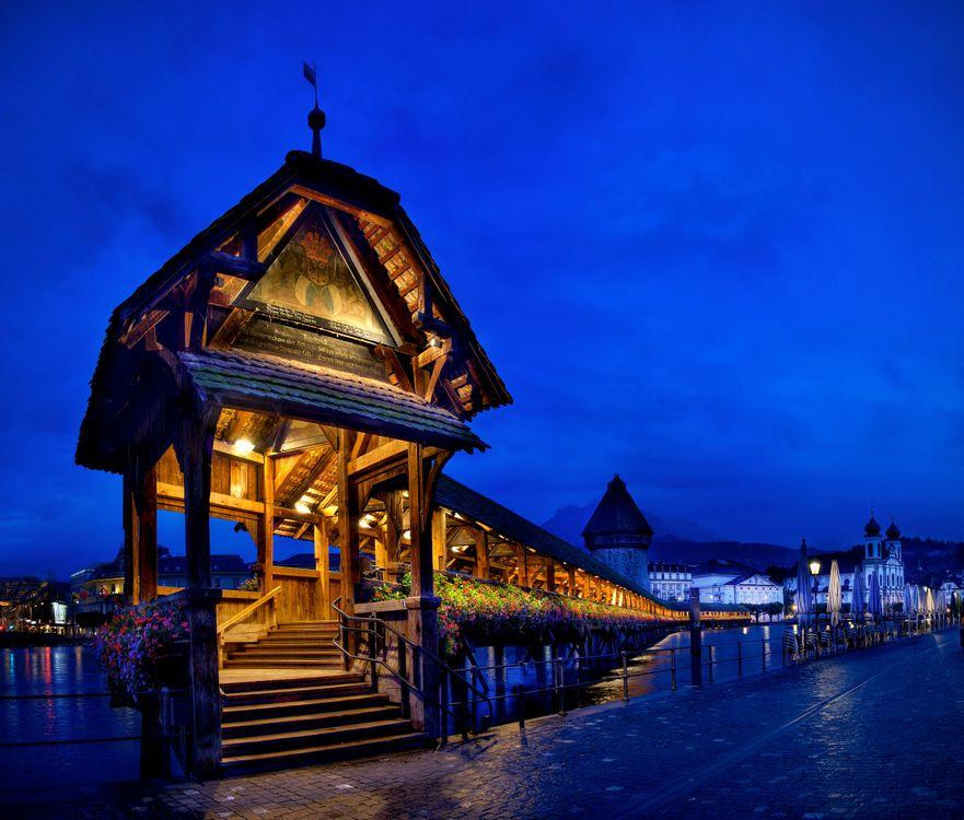 Фото бесплатно Lucerne, Switzerland, Люцерн - на рабочий стол