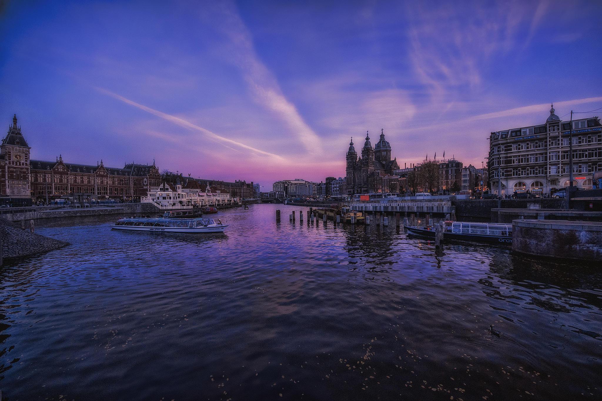Обои амстердам нидерланды  раздел Природа размер