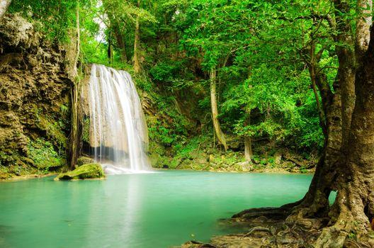 Photo free Erawan Waterfall, Thailand, Kanchanaburi