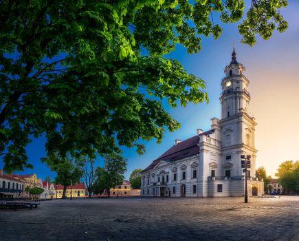Бесплатные фото Ратуша Каунаса,Литва,Европа