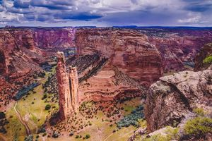 Photo free Spider Rock Overlook, Canyon de Chelly, Arizona