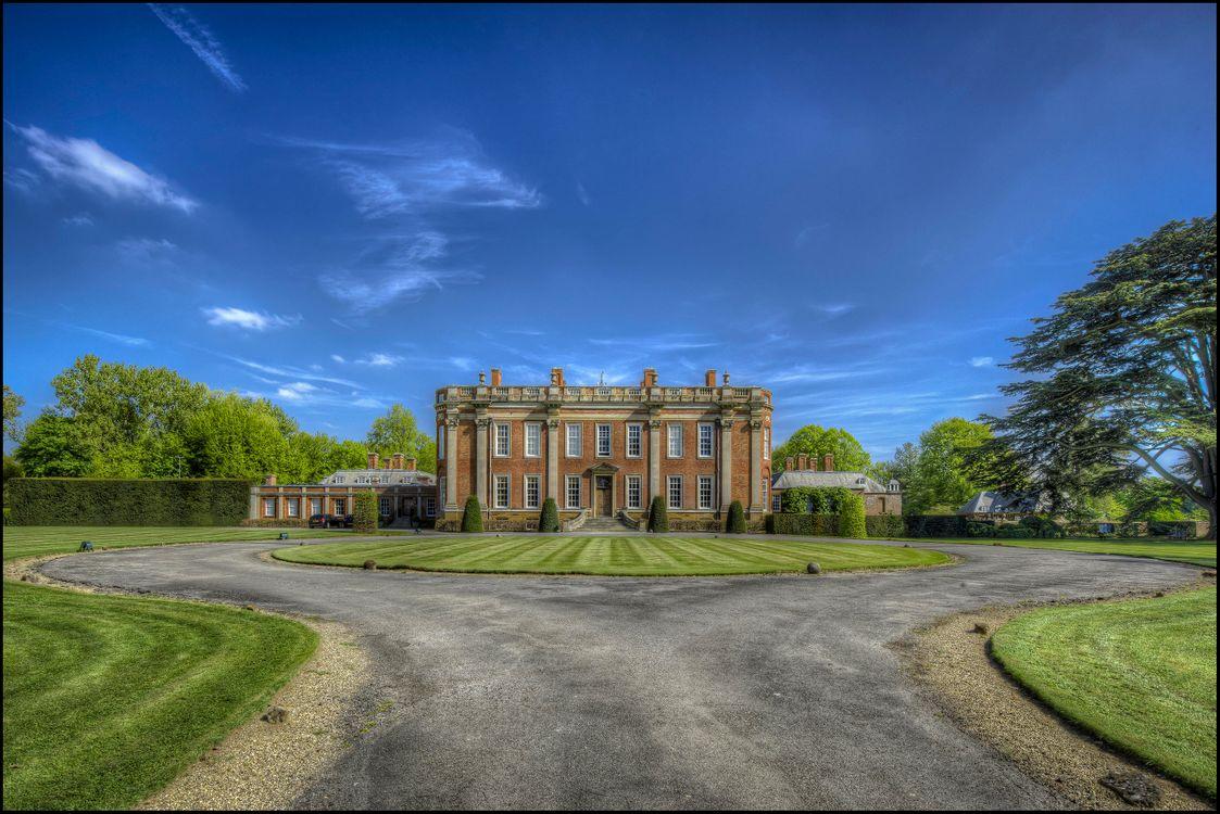 Фото бесплатно Northamptonshire, England, Cottesbrooke Hall - на рабочий стол