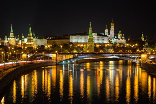 Download wallpaper moscow kremlin, moscow