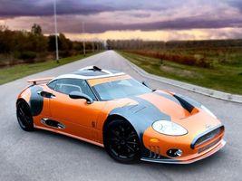 Бесплатные фото Spyker,автомобиль,дорога