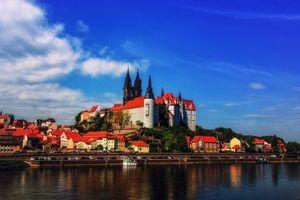 Бесплатные фото Замок Альбрехтсбург,Мейсен,Albrechtsburg Castle,Meissen,Germany,Германия
