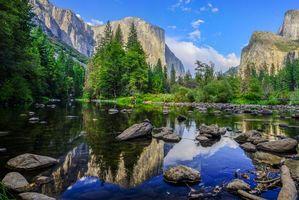 Бесплатные фото Йосемити,национальный парк,Yosemite National Park,США,штат Калифорния,река,горы