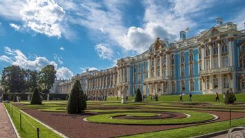 Обои The Catherine palace, Tsarskoye Selo, St Petersburg