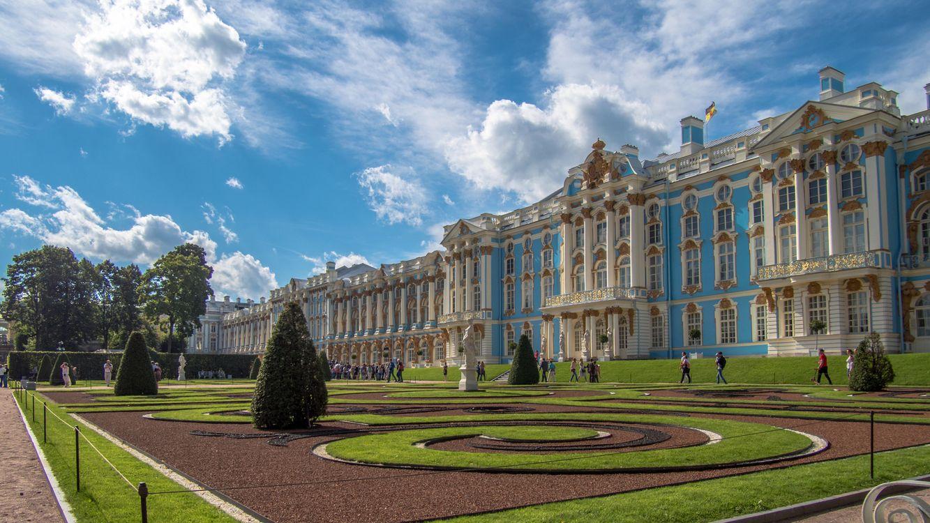 Фото бесплатно The Catherine palace, Tsarskoye Selo, St Petersburg, город