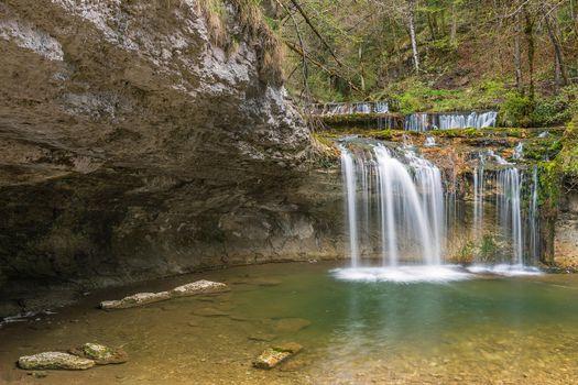 Photo free nature, France, Cascades de Tufs